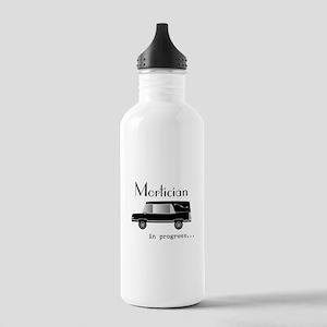 Mortician in progress Water Bottle