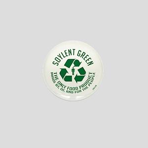 Strk3 Soylent Green Mini Button