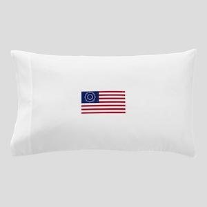 US - 37 Stars Medallion Centennial Flag Pillow Cas