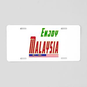 Enjoy Malaysia Flag Designs Aluminum License Plate