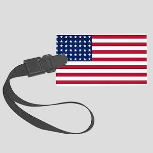 US - 48 Stars Flag Luggage Tag