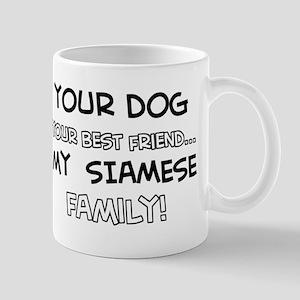 Siamese Cat designs Mug