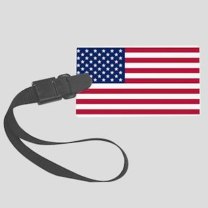 US - 50 Stars Flag Luggage Tag