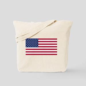 US - 50 Stars Flag Tote Bag