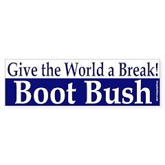 Give the World a Break! Bumper Bumper Sticker