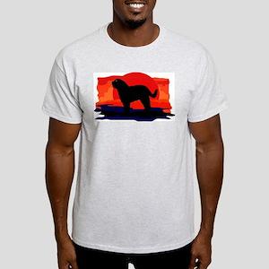 Barbet (French Water Dog) Ash Grey T-Shirt