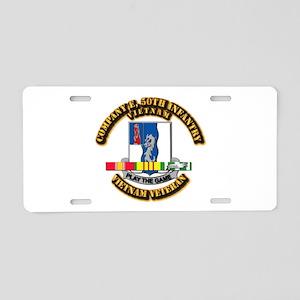 Army - Company E, 50th Infantry w SVC Ribbons Alum