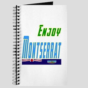 Enjoy Montserrat Flag Designs Journal