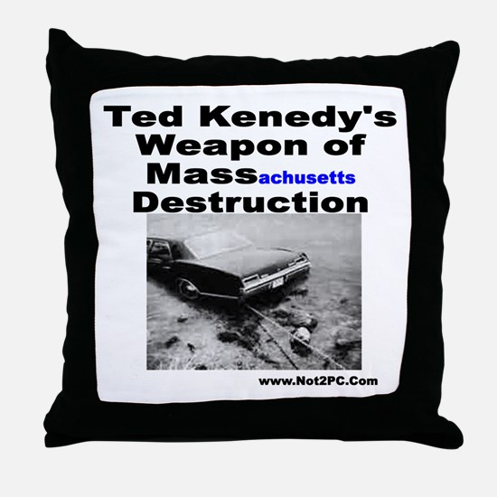 Teds WMD Throw Pillow