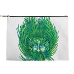 California Green Man Makeup Pouch