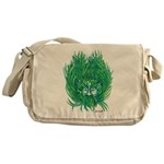 California Green Man Messenger Bag