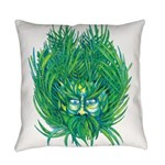 California Green Man Everyday Pillow