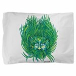 California Green Man Pillow Sham