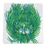 California Green Man Tufted Chair Cushion