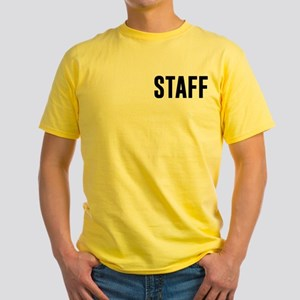 Fake News Network Distressed Yellow T-Shirt