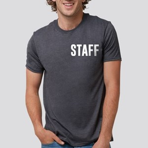 Fake News Network Distresse Mens Tri-blend T-Shirt