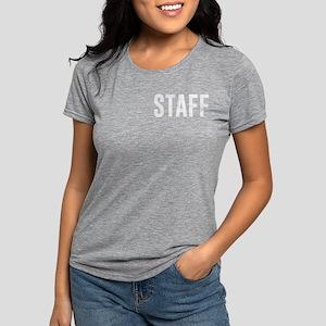 Fake News Network Distres Womens Tri-blend T-Shirt