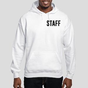 Fake News Network Distressed Hooded Sweatshirt