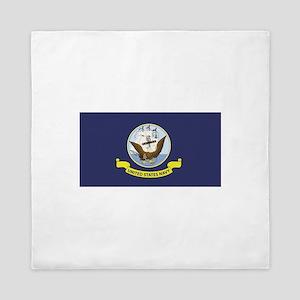 USN Flag Queen Duvet