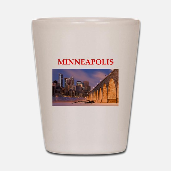 minneapolis Shot Glass
