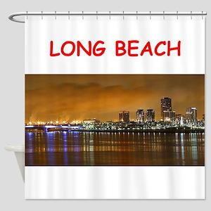 long beach Shower Curtain
