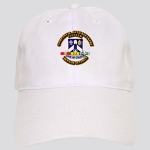 Army - Company D, 58th Infantry w SVC Ribbons Cap