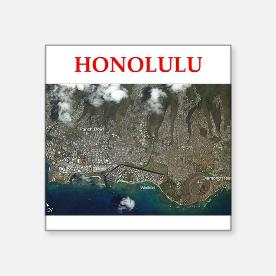 honolulu Sticker