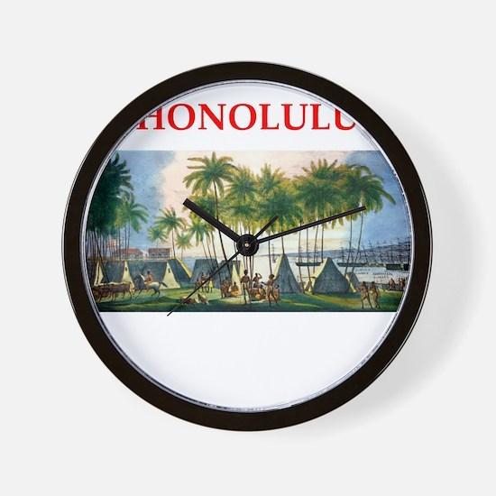 honolulu Wall Clock
