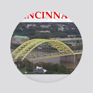 cincinnati Ornament (Round)