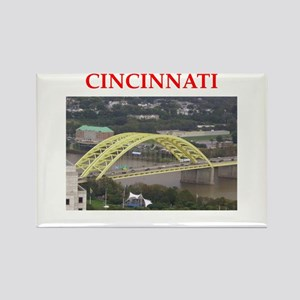 cincinnati Rectangle Magnet