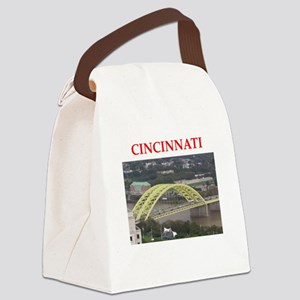 cincinnati Canvas Lunch Bag