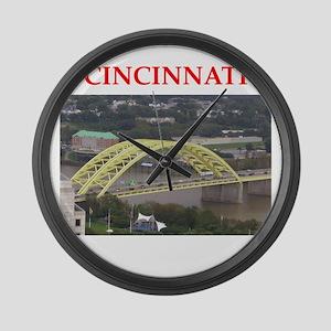 cincinnati Large Wall Clock
