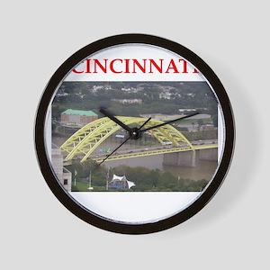 cincinnati Wall Clock