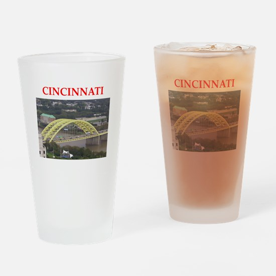 cincinnati Drinking Glass
