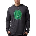 California Green Man Mens Hooded Shirt