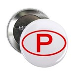Portugal - P Oval Button