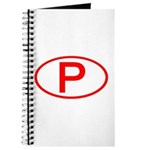 Portugal - P Oval Journal