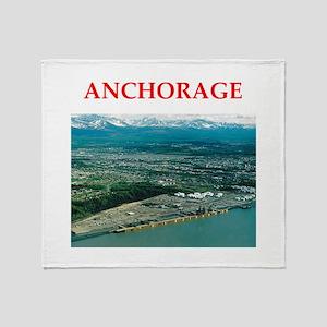 anchorage Throw Blanket