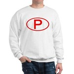 Portugal - P Oval Sweatshirt