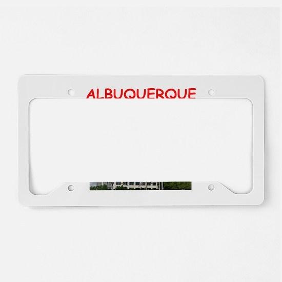 albuquerque License Plate Holder
