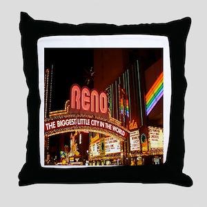reno Throw Pillow