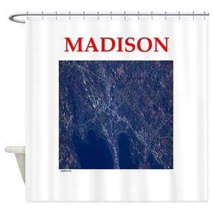 Madison Wisconsin Shower Curtains