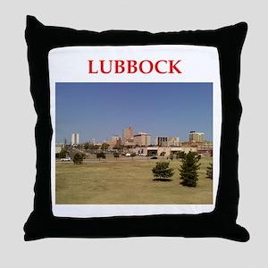 lubbock Throw Pillow