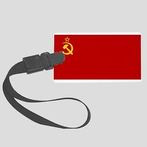 USSR National Flag Luggage Tag