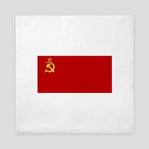 USSR National Flag Queen Duvet
