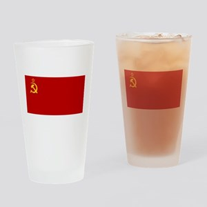 USSR National Flag Drinking Glass