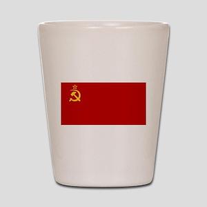 USSR National Flag Shot Glass