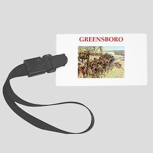 greensboro Luggage Tag