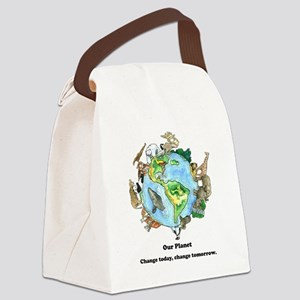 Our Planet Canvas Lunch Bag