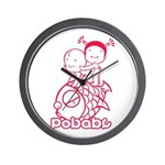 Pobaby Wall Clock